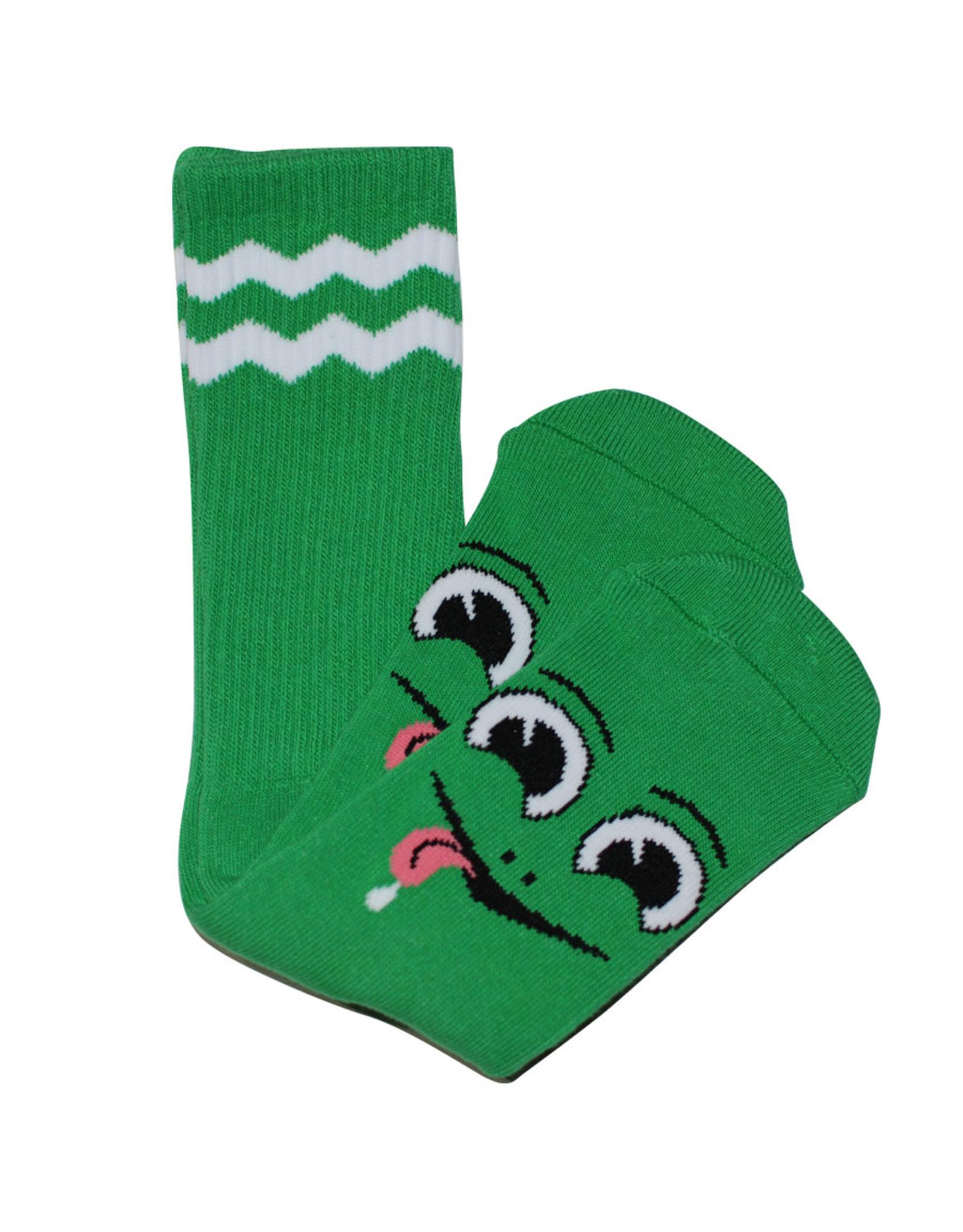 Toy Machine Toy Machine Socks Happy Turtle Crew (Green)