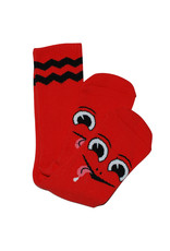 Toy Machine Toy Machine Socks Happy Turtle Crew (Red)