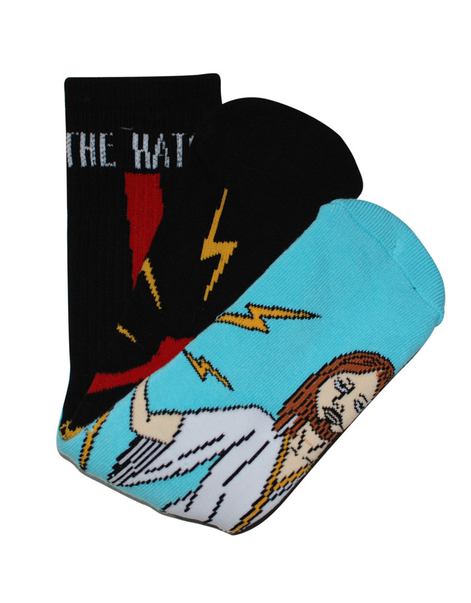 Toy Machine Toy Machine Socks Bury The Hatchet Crew (Black/Blue)