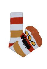 Toy Machine Toy Machine Socks Monster Big Stripe Crew (Brown)