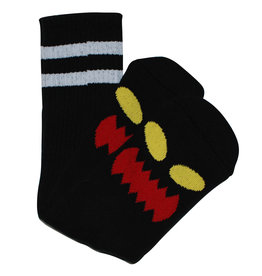 Toy Machine Toy Machine Socks Monster Face Crew (Black)