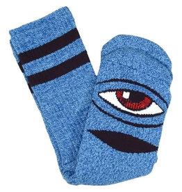 Toy Machine Toy Machine Socks Heather Sect Eye Crew (Blue Heather)