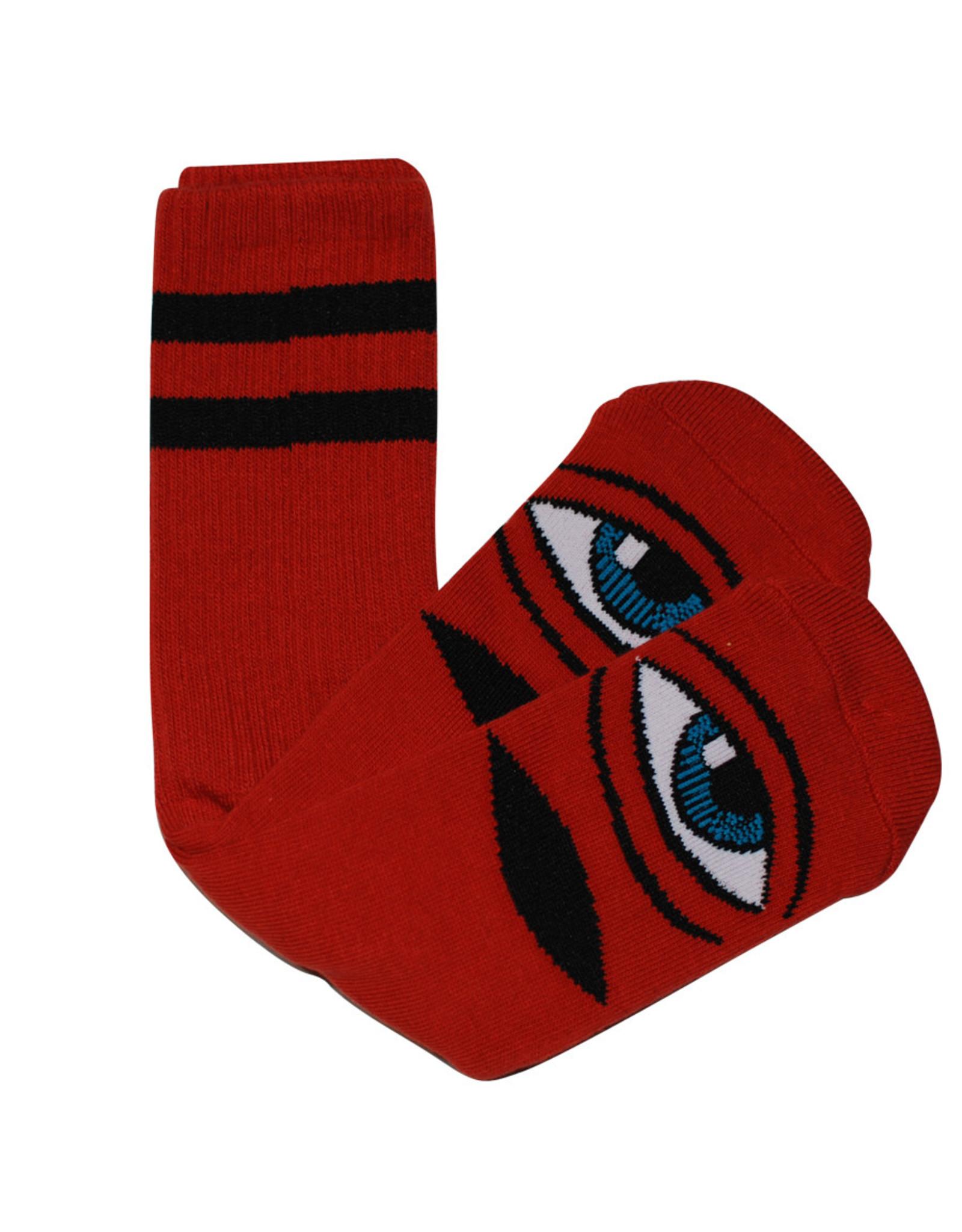 Toy Machine Toy Machine Socks Sect Eye Crew (Clay)
