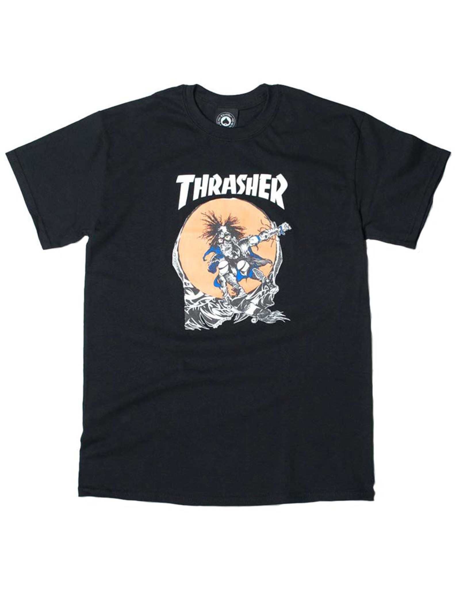 Thrasher Thrasher Tee Mens Sk8 Outlaw S/S (Black)