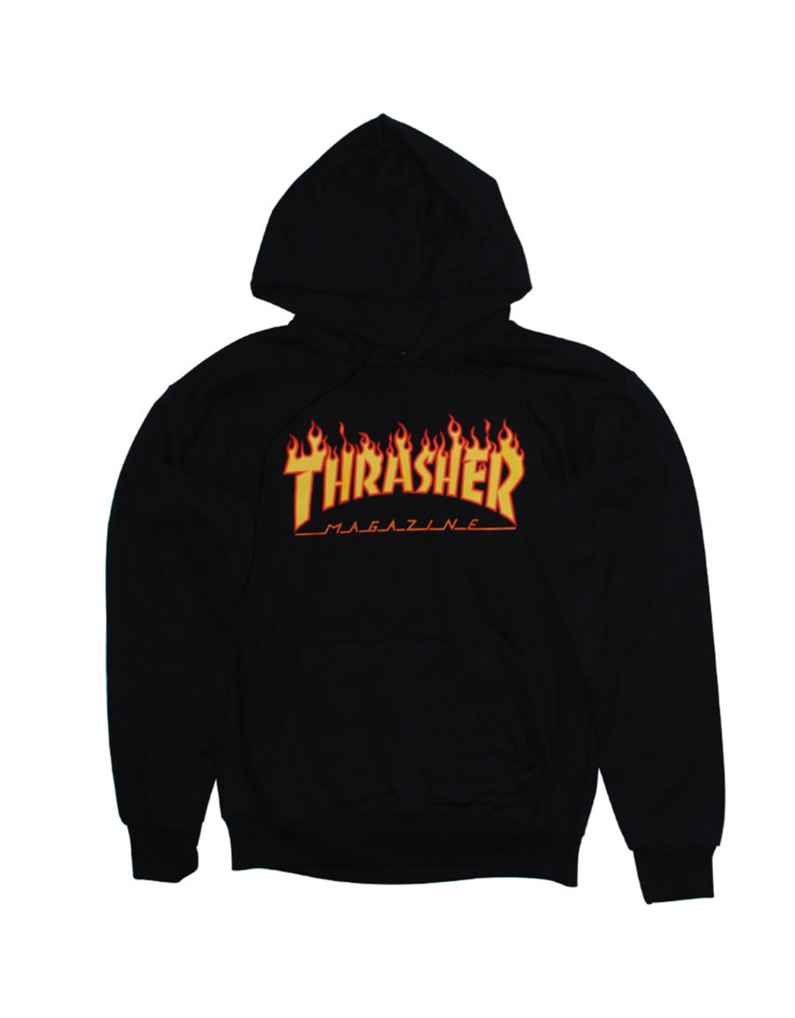 Thrasher Thrasher Hood Mens Flame (Black)