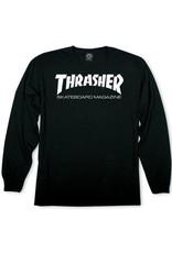 Thrasher Thrasher Tee Mens Sk8 Mag L/S (Black)