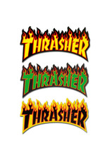 Thrasher Thrasher Sticker Flame Die-Cut Logo Assorted (1/Large)