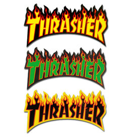 Thrasher Thrasher Sticker Flame Die-Cut Logo Assorted (1/Large)