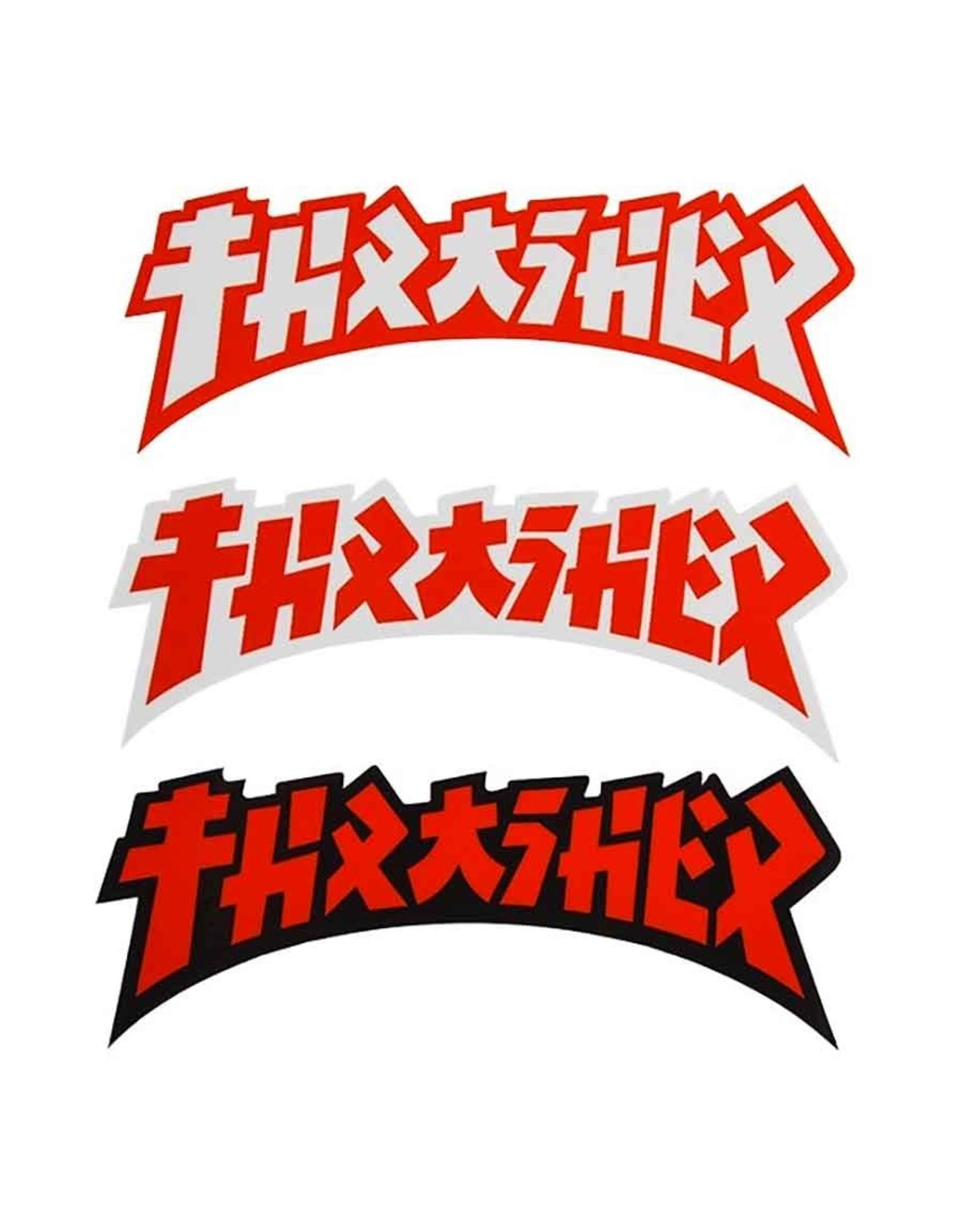 Thrasher Thrasher Sticker Godzilla Die Cut