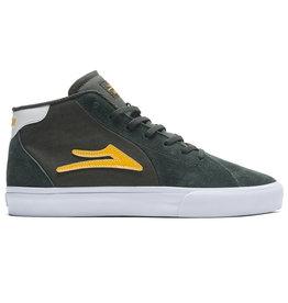 Lakai Shoes Lakai Shoe Flaco II Mid (Olive/Yellow)