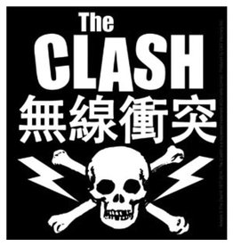 Star 500 Concert Series On Hollywood Sticker The Clash (Skull And Bolts)