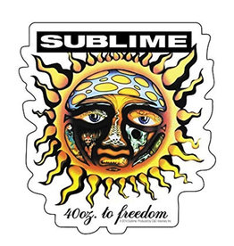 Star 500 Concert Series On Hollywood Sticker Sublime (40 OZ)