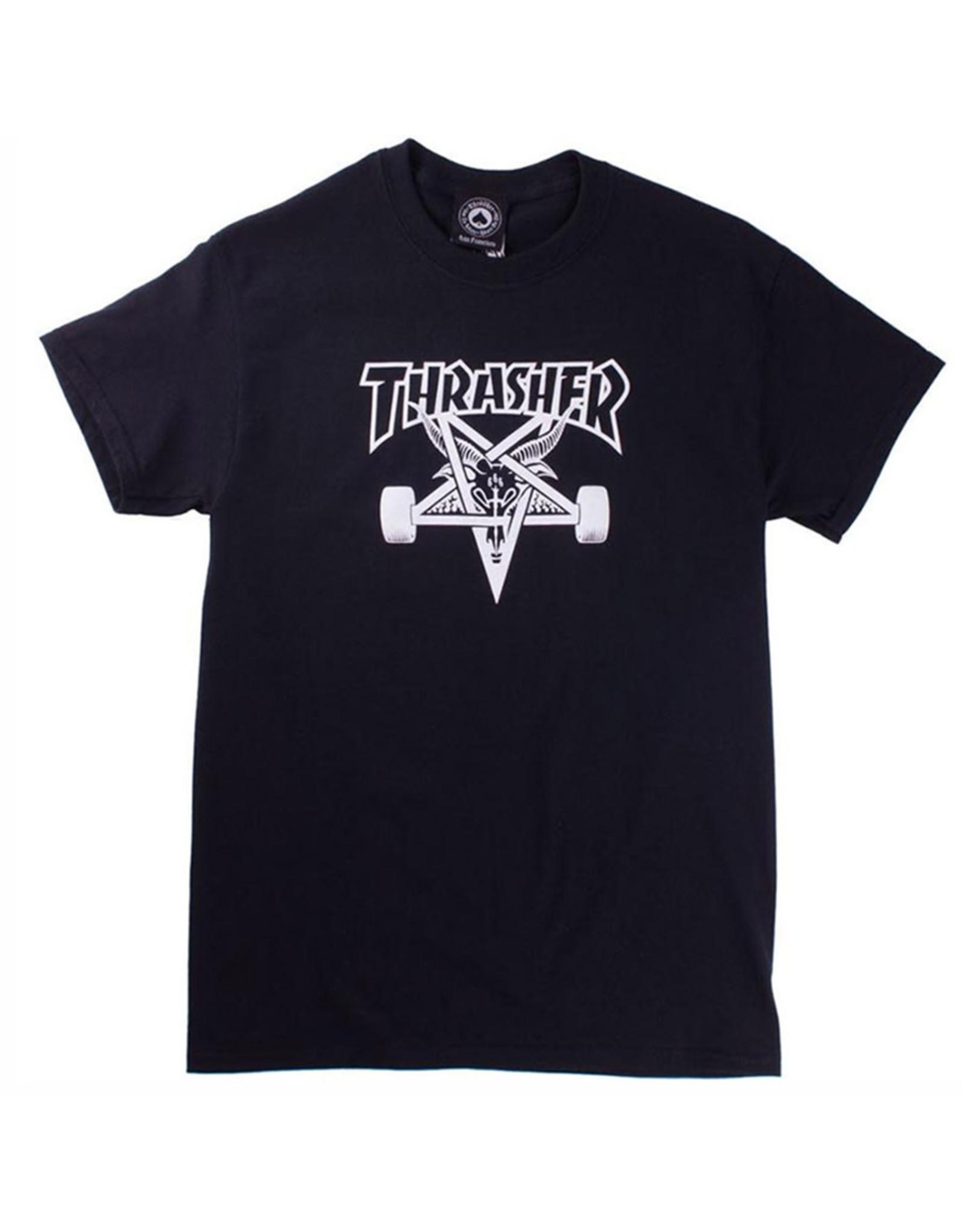 Thrasher Thrasher Tee Mens Sk8 Goat S/S (Black)