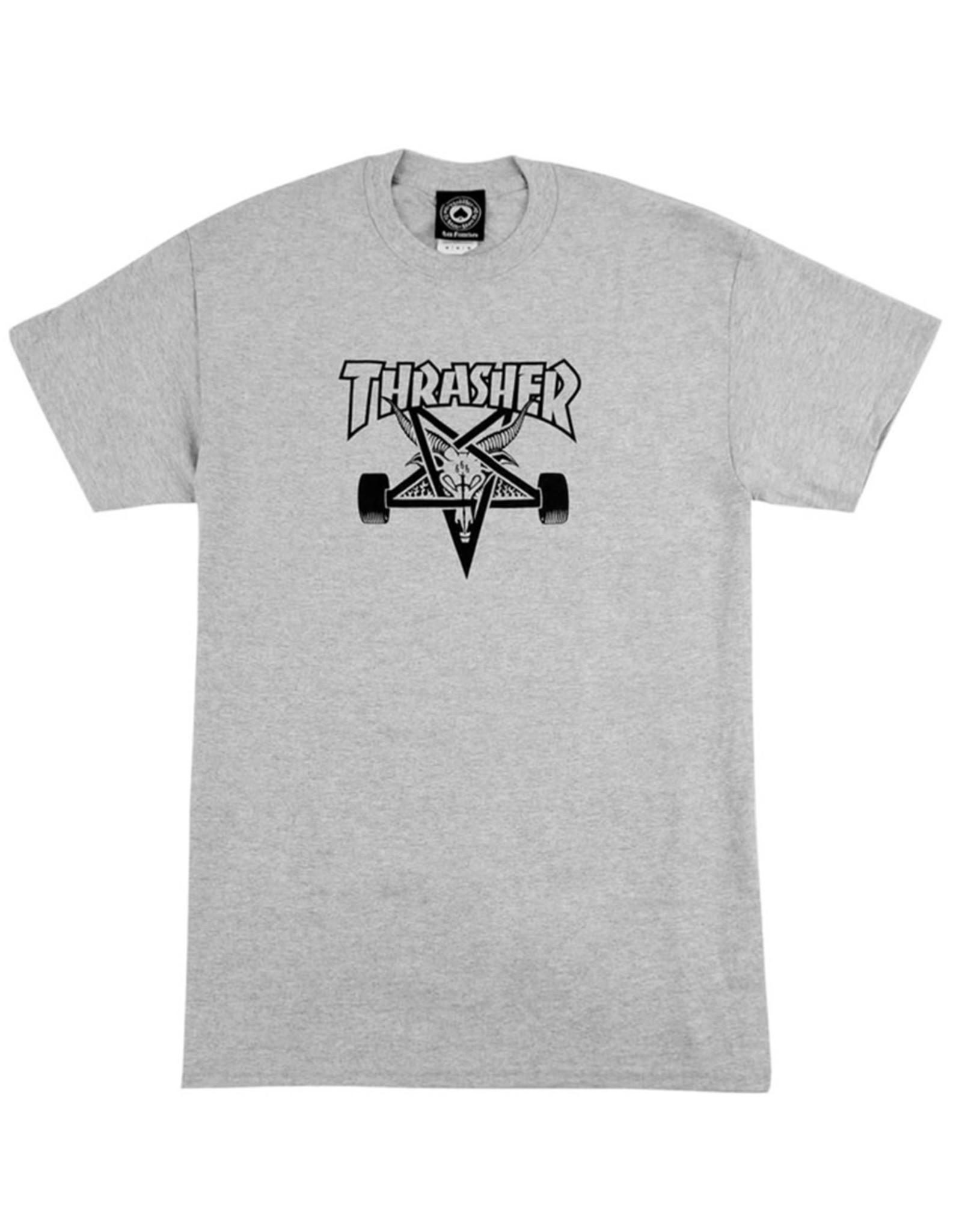 Thrasher Thrasher Tee Mens Sk8 Goat S/S (Grey)