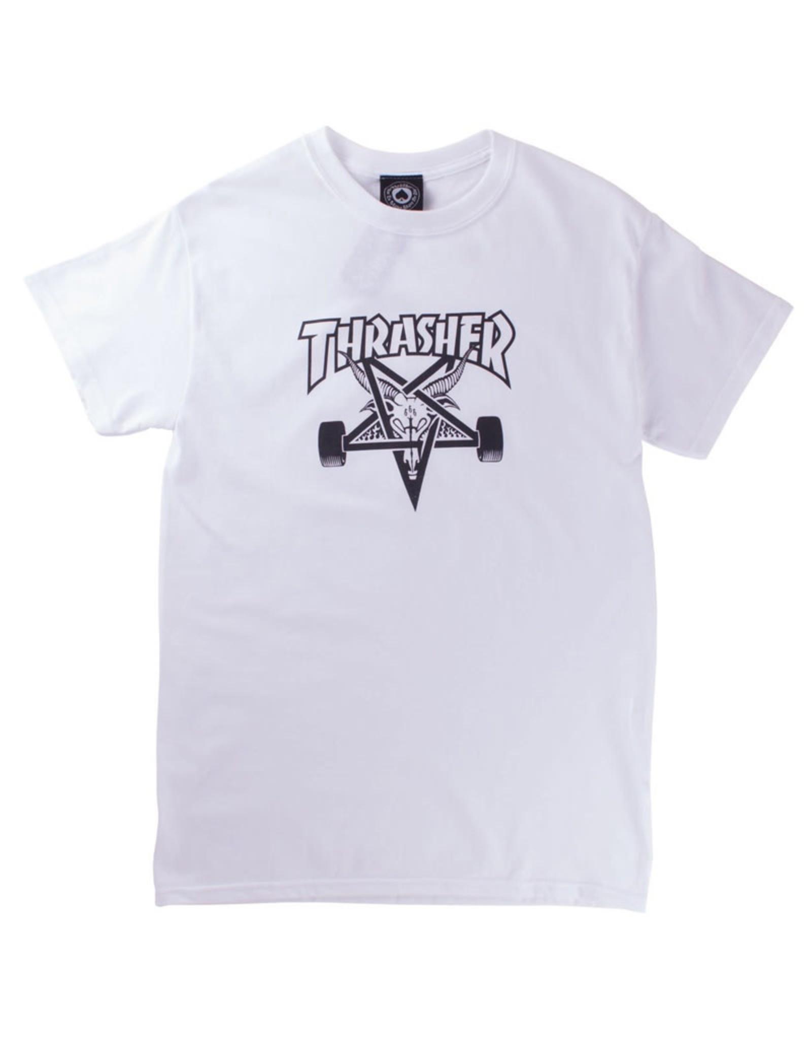Thrasher Thrasher Tee Mens Sk8 Goat S/S (White)