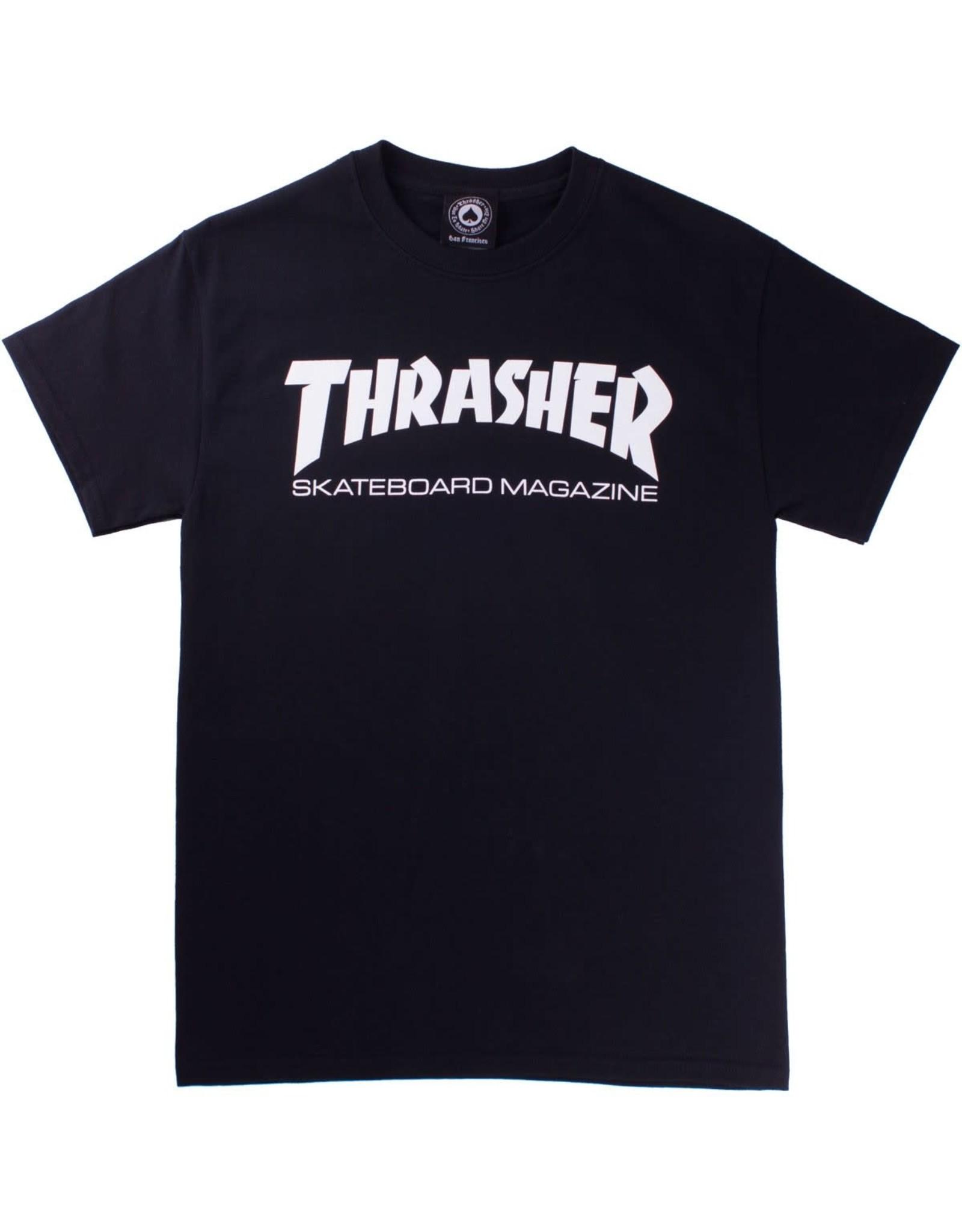 Thrasher Thrasher Tee Mens Sk8 Mag S/S (Black)