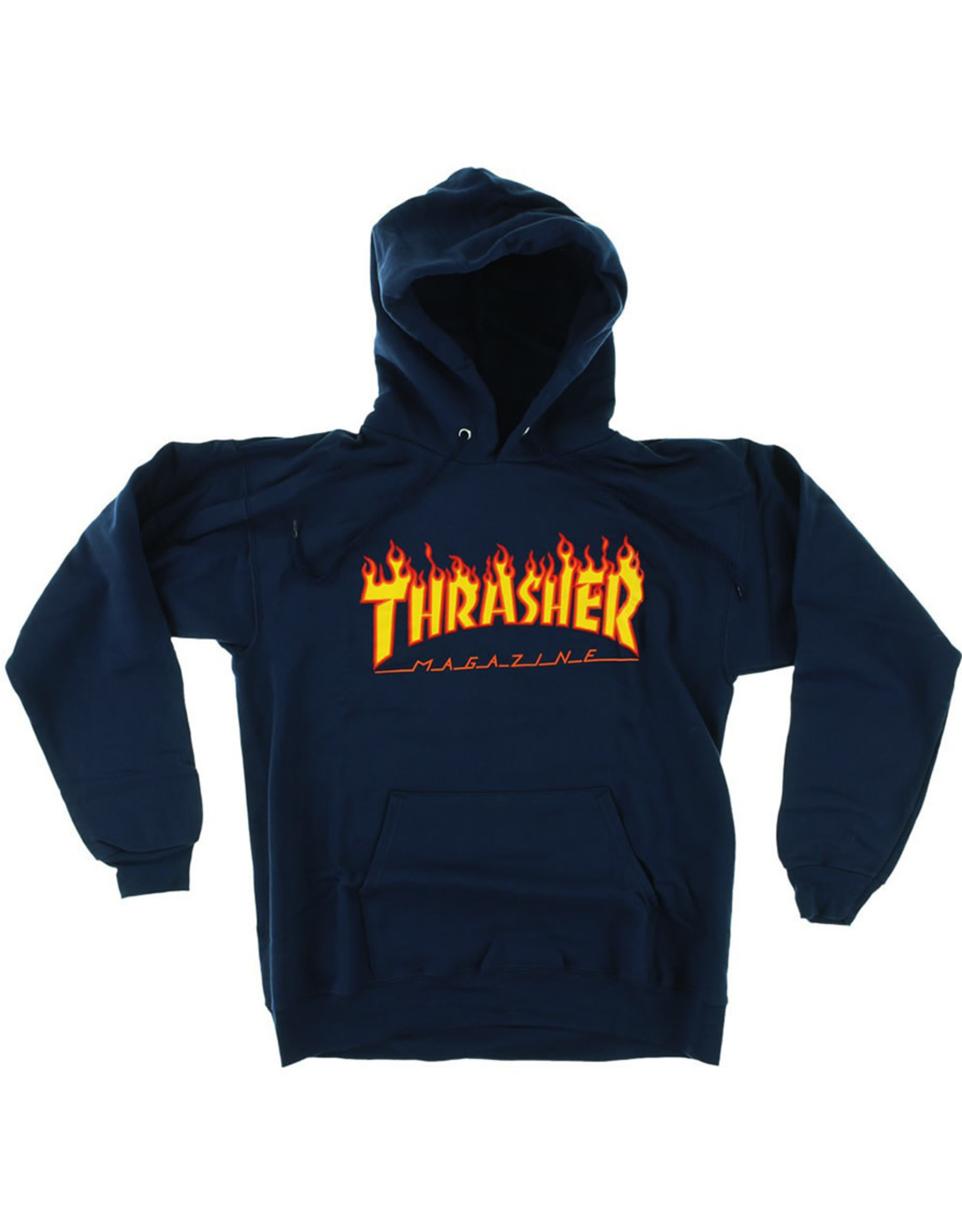 Thrasher Thrasher Hood Mens Flame (Navy)