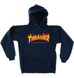 Thrasher Thrasher Hood Mens Flame (Navy)