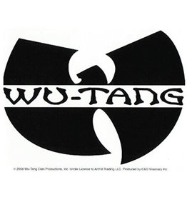 Star 500 Concert Series On Hollywood Sticker Wu Tang Clan Logo