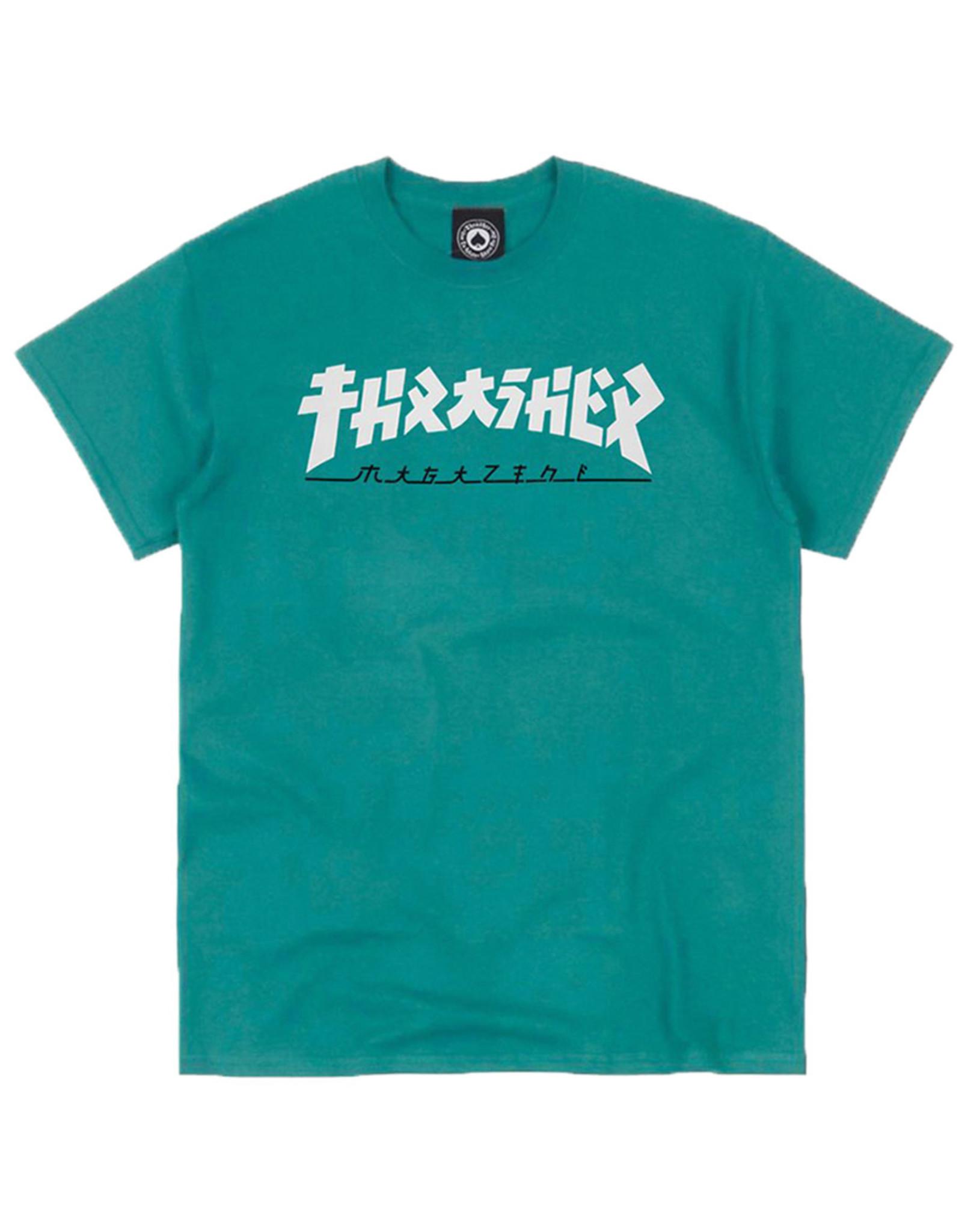 Thrasher Thrasher Tee Mens Godzilla S/S (Jade)