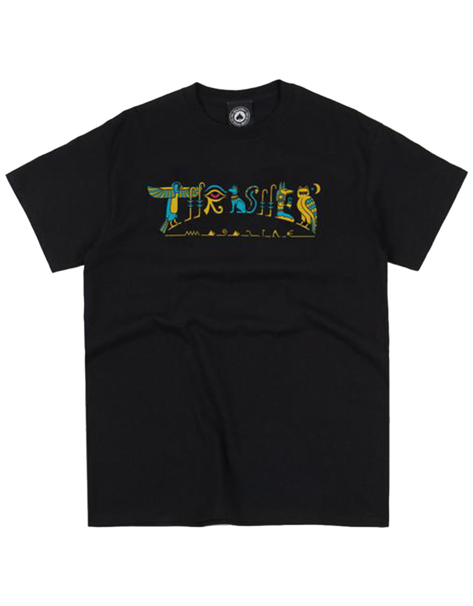 Thrasher Thrasher Tee Mens Hieroglyphic S/S (Black)