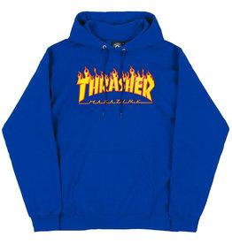 Thrasher Thrasher Hood Mens Flame (Royal Blue)