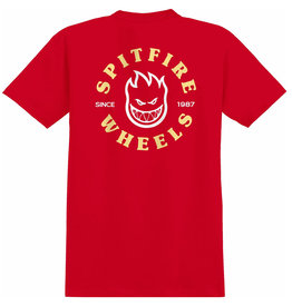 Spitfire Spitfire Tee Bighead Classic S/S (Red/Yellow/White)
