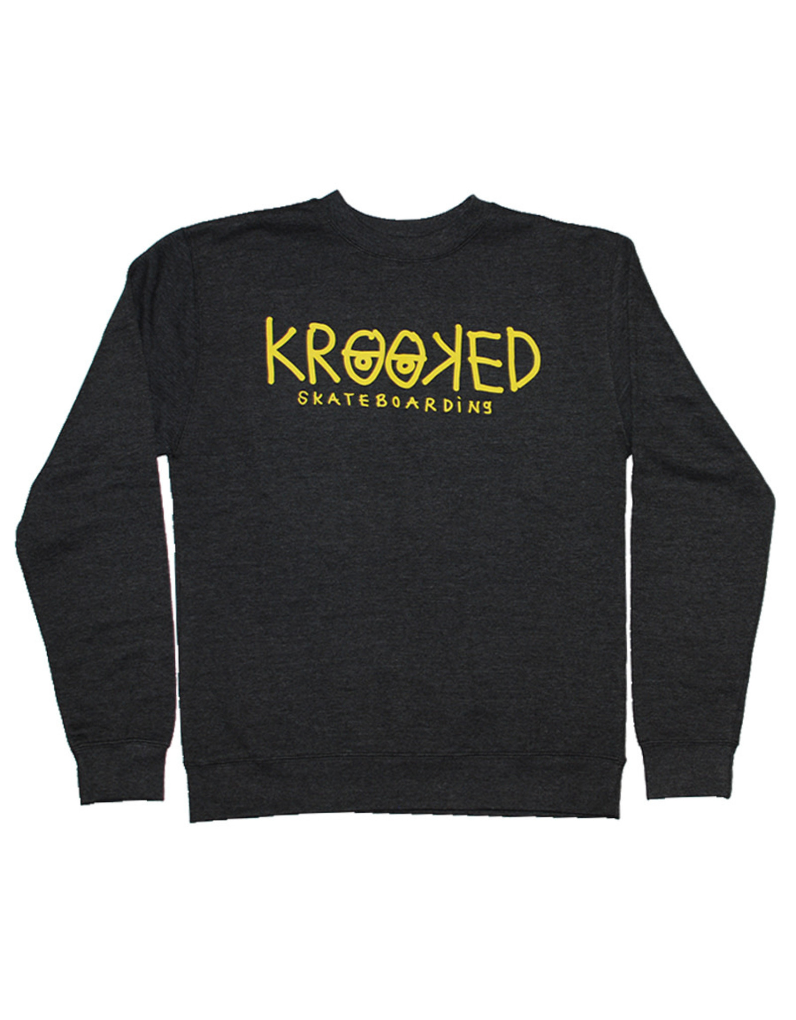 Krooked Krooked Crew Krooked Eyes (Charcoal Heather)