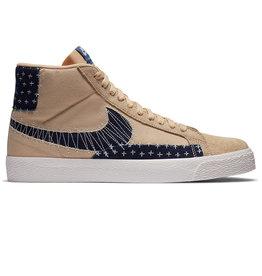 "Nike SB Nike SB Shoe Zoom Blazer Mid Premium ""Sashiko"" (Sesame/Sail/Navy)"