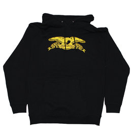 Anti Hero Anti Hero Hood Basic Eagle (Black/Yellow)