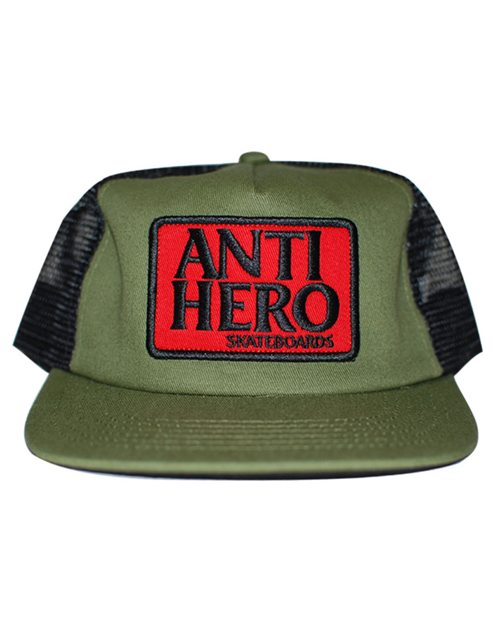 Anti Hero Anti Hero Hat Reserve Patch Snapback Trucker (Olive/Black)
