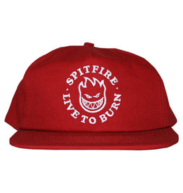 Spitfire Spitfire Hat Bighead LTB Snapback (Red/White)