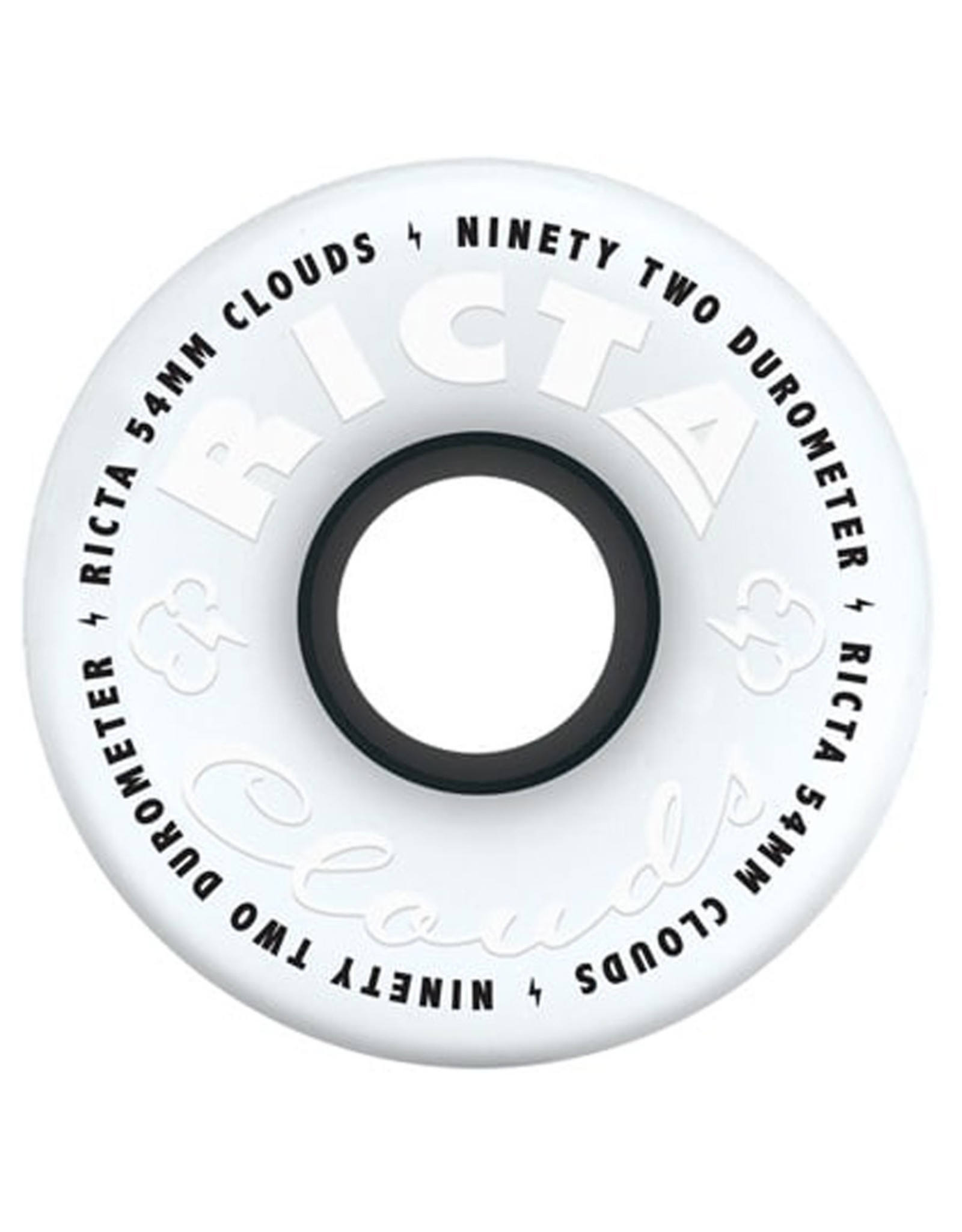 Ricta Wheels Ricta Wheels Clouds Black (54mm/92a)