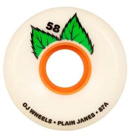 OJ Wheels OJ Wheels Team Plain Jane Keyframe (58mm/87a)