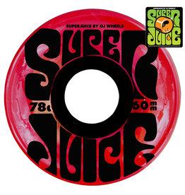 OJ Wheels OJ Wheels Team Super Juice Trans Red (60mm/78a)