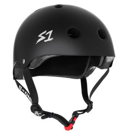 S-One S-One Helmet The Mini (Black Matte/Black Straps)