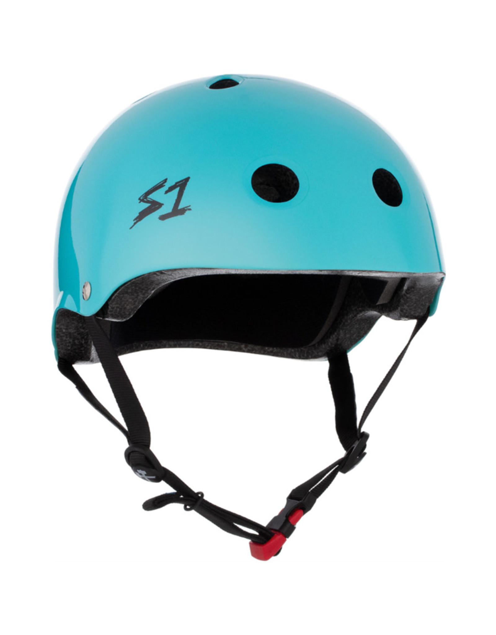 S-One S-One Helmet The Mini (Lagoon/Black Straps)