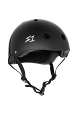 S-One S-One Helmet The Mega (Black Matte/Black Straps)