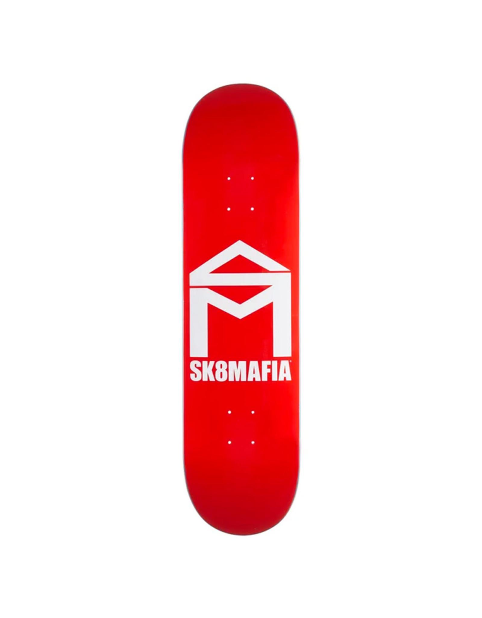 Sk8 Mafia Sk8 Mafia Deck Team House Logo Red (8.25)