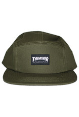 Thrasher Thrasher Hat 5 Panel Strapback (Army Green)