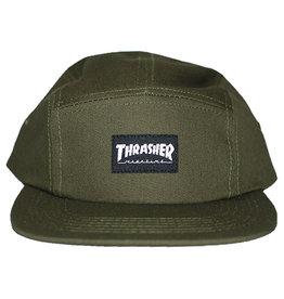Thrasher Thrasher Hat 5 Panel Strapback (Army Green)