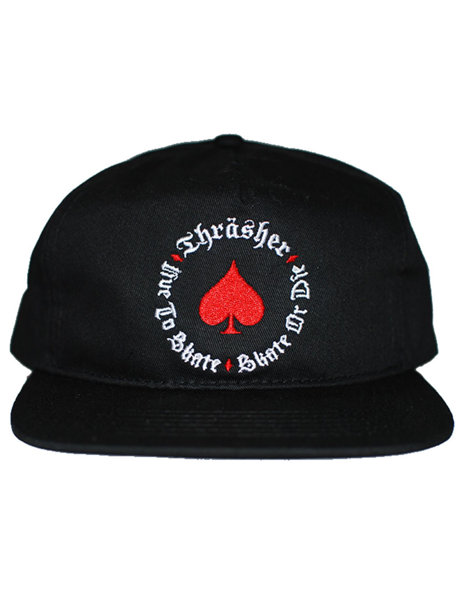 Thrasher Thrasher Hat Oath Snapback (Black)