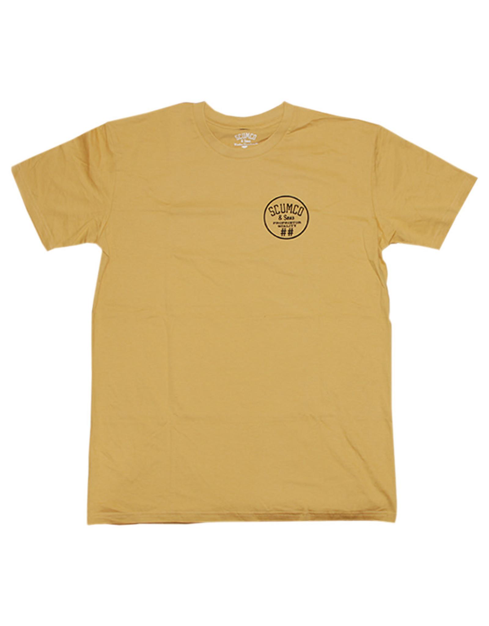Scumco & Sons Scumco & Sons Propietor S/S Tee (Gold)
