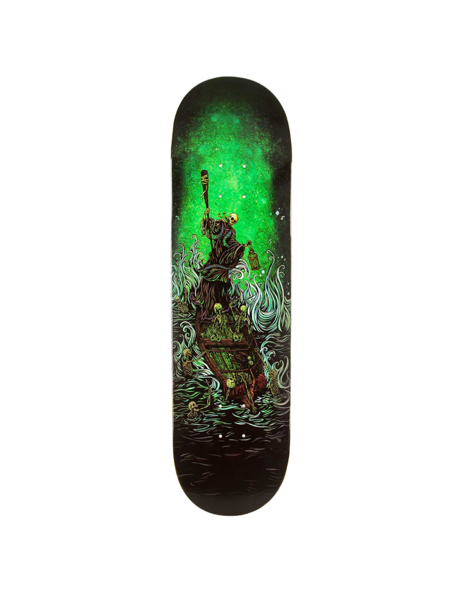 Techne Skateboards Techne Deck Boatman On The River Styx (8.38)