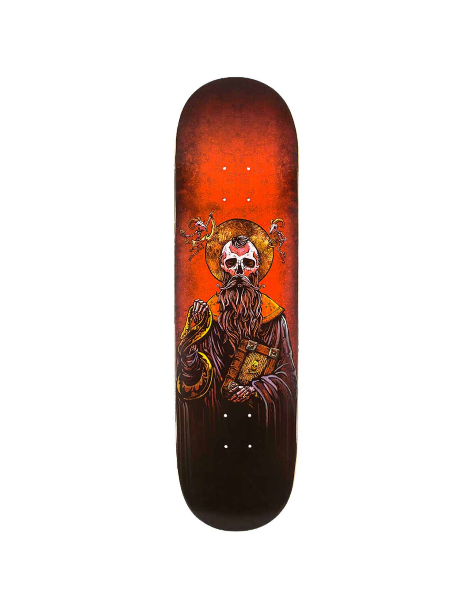 Techne Skateboards Techne Deck Saint Of Sinners (9.0)