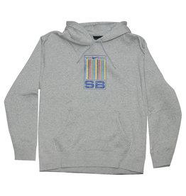 Nike SB Nike SB Hood Graphic  Pullover (Dark Grey Heather/White)