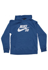 Nike SB Nike SB Hood Icon Pullover (Mystic Navy/Vast Grey)