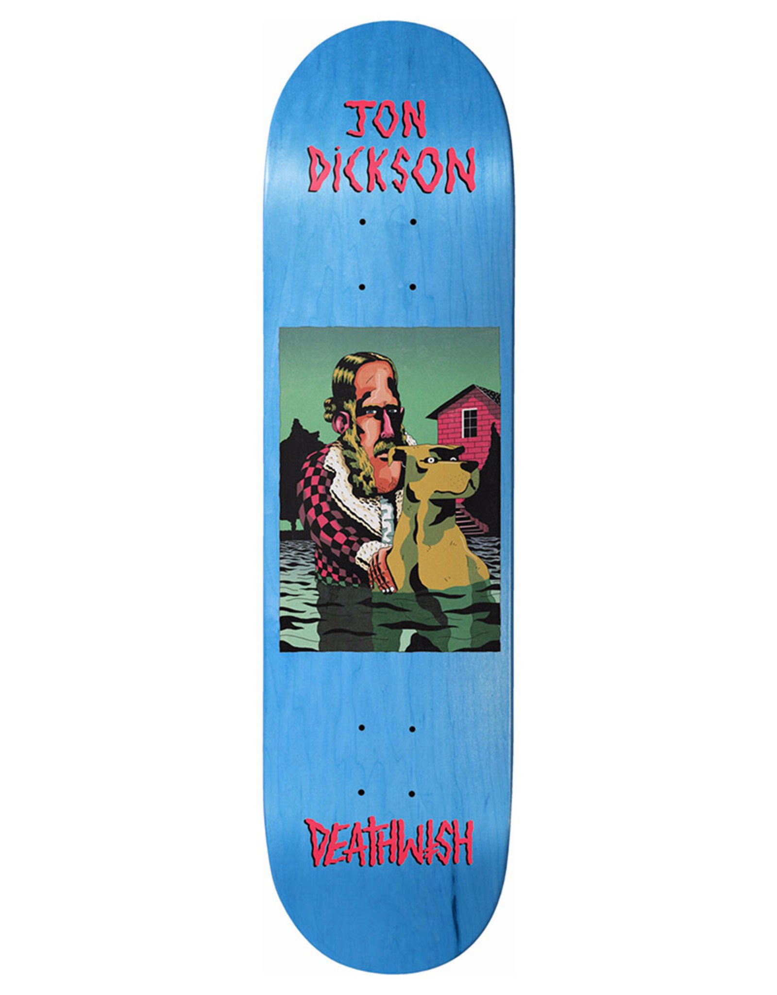 Deathwish Deathwish Deck Jon Dickson The Pond (8.0)
