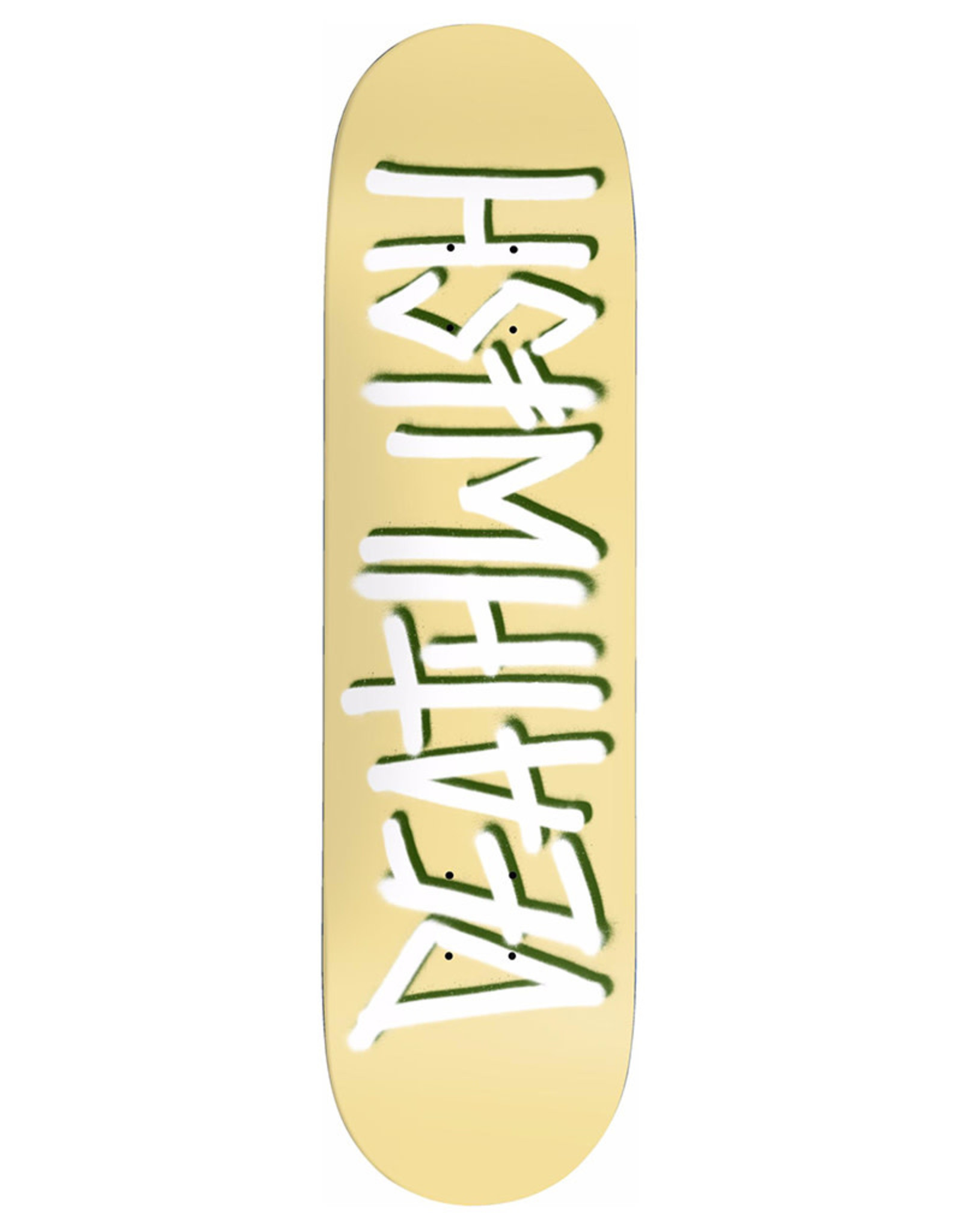 Deathwish Deathwish Deck Team Deathspray Pale Yellow (8.0)