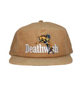 Deathwish Deathwish Hat High Horse Cord Snapback (Khaki)